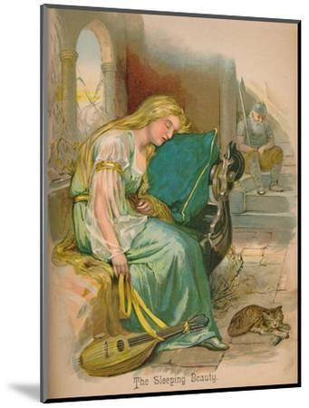 'The Sleeping Beauty', 1903-Unknown-Mounted Giclee Print