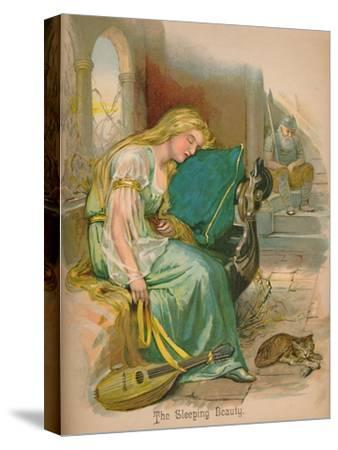 'The Sleeping Beauty', 1903-Unknown-Stretched Canvas Print