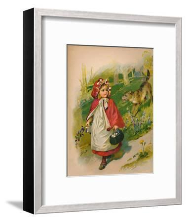 'Little Red Riding Hood', 1903-Unknown-Framed Giclee Print