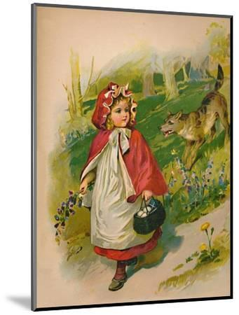 'Little Red Riding Hood', 1903-Unknown-Mounted Giclee Print