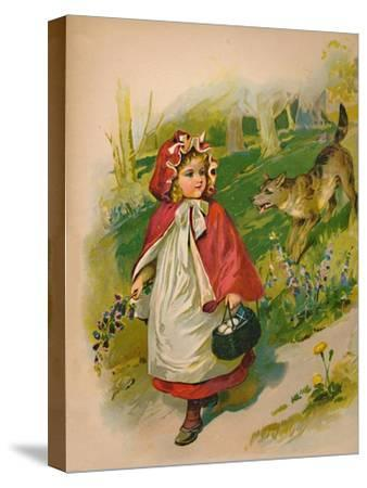 'Little Red Riding Hood', 1903-Unknown-Stretched Canvas Print