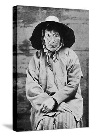 A Tlingit woman of Alaska, 1912-Unknown-Stretched Canvas Print