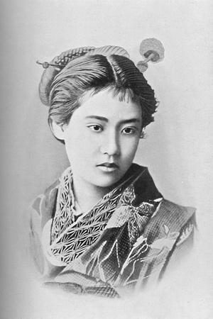A Japanese beauty, 1902-Unknown-Framed Photographic Print