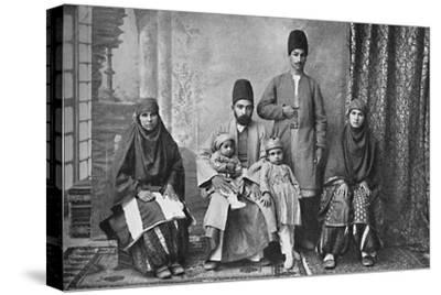 A Persian Parsi family, 1902-Unknown-Stretched Canvas Print