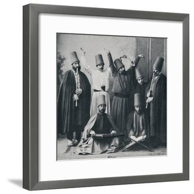 Egyptian dancing dervishes, 1912-Unknown-Framed Photographic Print