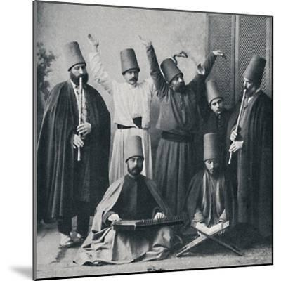Egyptian dancing dervishes, 1912-Unknown-Mounted Photographic Print