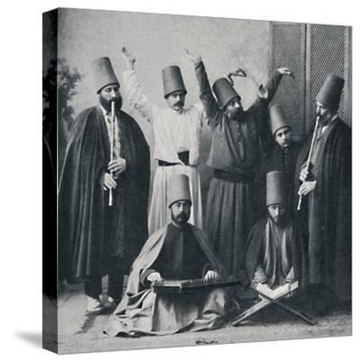 Egyptian dancing dervishes, 1912-Unknown-Stretched Canvas Print