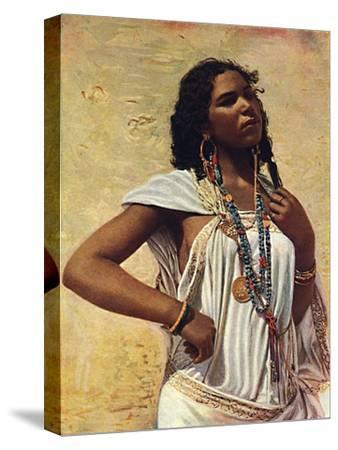 An Arab woman, 1912-Unknown-Stretched Canvas Print