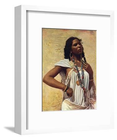 An Arab woman, 1912-Unknown-Framed Giclee Print
