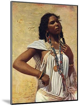 An Arab woman, 1912-Unknown-Mounted Giclee Print