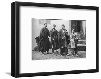 Blind beggars of Tehran, Persia, 1902-Unknown-Framed Photographic Print