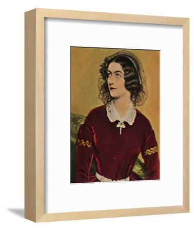'Lola Montez 1818-1861. - Gemälde von Stieler', 1934-Unknown-Framed Giclee Print