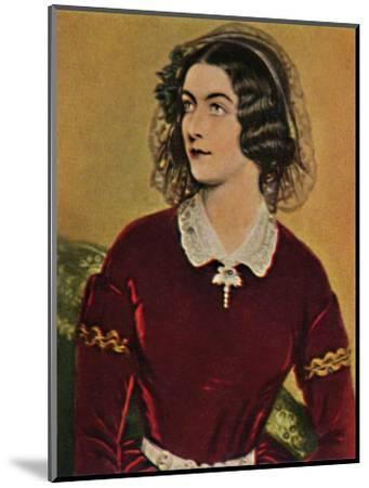 'Lola Montez 1818-1861. - Gemälde von Stieler', 1934-Unknown-Mounted Giclee Print