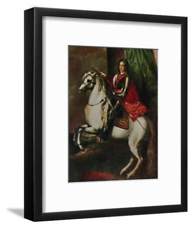 'Prinz Eugen von Savoyen 1663-1736', 1934-Unknown-Framed Giclee Print