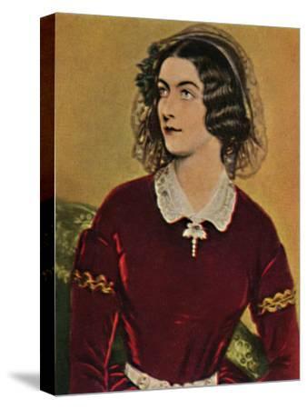 'Lola Montez 1818-1861. - Gemälde von Stieler', 1934-Unknown-Stretched Canvas Print