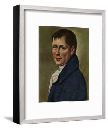 'Heinrich von Kleist 1777-1811. - Gemälde von Graff', 1934-Unknown-Framed Giclee Print