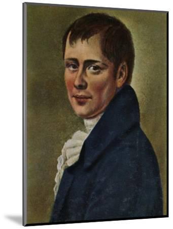 'Heinrich von Kleist 1777-1811. - Gemälde von Graff', 1934-Unknown-Mounted Giclee Print
