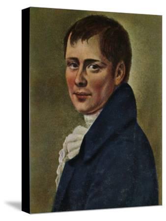 'Heinrich von Kleist 1777-1811. - Gemälde von Graff', 1934-Unknown-Stretched Canvas Print