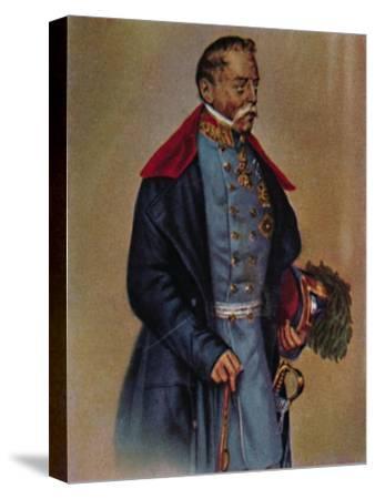 'Feldmarschall Graf Radetzky 1766-1858. - Gemälde von Kriehuber', 1934-Unknown-Stretched Canvas Print