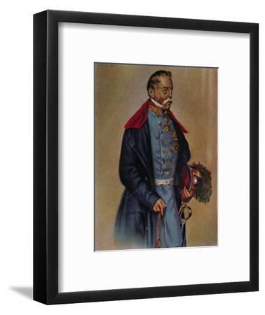 'Feldmarschall Graf Radetzky 1766-1858. - Gemälde von Kriehuber', 1934-Unknown-Framed Giclee Print