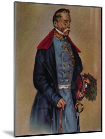 'Feldmarschall Graf Radetzky 1766-1858. - Gemälde von Kriehuber', 1934-Unknown-Mounted Giclee Print