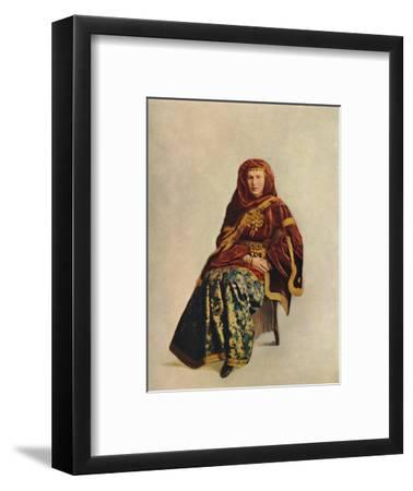 An Armenian woman of the Caucasus, 1912-Unknown-Framed Giclee Print
