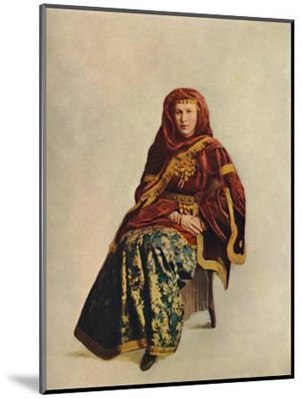 An Armenian woman of the Caucasus, 1912-Unknown-Mounted Giclee Print