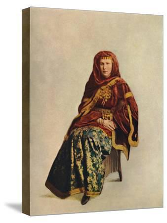 An Armenian woman of the Caucasus, 1912-Unknown-Stretched Canvas Print