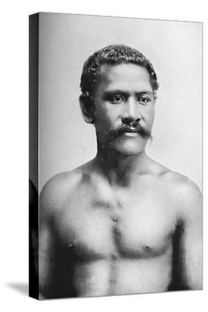A Samoan chief, Vraila, 1902-Unknown-Stretched Canvas Print