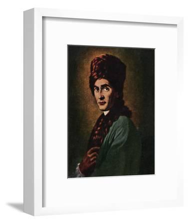 'Jean Jacques Rousseau 1712-1778', 1934-Unknown-Framed Giclee Print