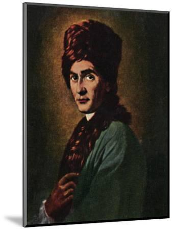 'Jean Jacques Rousseau 1712-1778', 1934-Unknown-Mounted Giclee Print