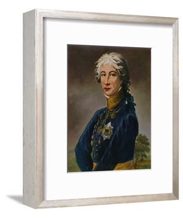 'Prinz Louis Ferdinand von Preußen', 1934-Unknown-Framed Giclee Print