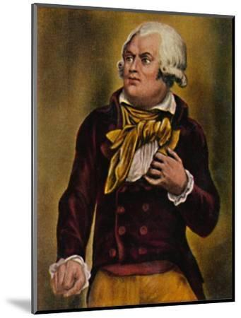 'Danton 1759-1794', 1934-Unknown-Mounted Giclee Print
