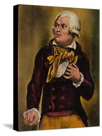'Danton 1759-1794', 1934-Unknown-Stretched Canvas Print