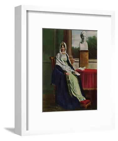 'Lätitia Bonaparte 1750-1836', 1934-Unknown-Framed Giclee Print