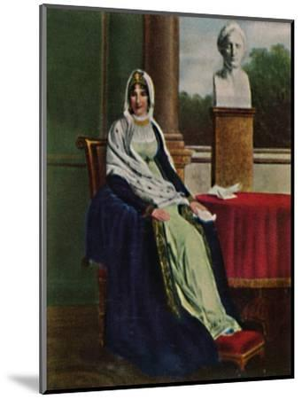 'Lätitia Bonaparte 1750-1836', 1934-Unknown-Mounted Giclee Print