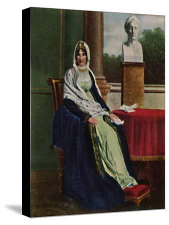 'Lätitia Bonaparte 1750-1836', 1934-Unknown-Stretched Canvas Print