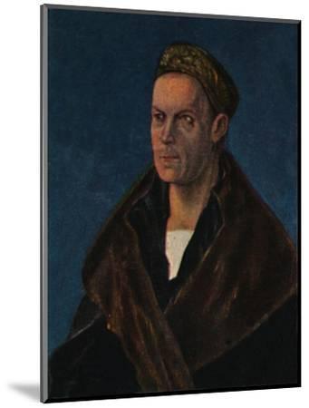 'Jakob Fugger 1459-1525. - Gemälde von Dürer', 1934-Unknown-Mounted Giclee Print