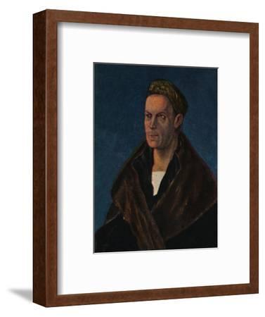 'Jakob Fugger 1459-1525. - Gemälde von Dürer', 1934-Unknown-Framed Giclee Print