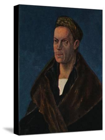 'Jakob Fugger 1459-1525. - Gemälde von Dürer', 1934-Unknown-Stretched Canvas Print