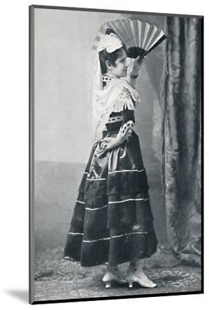 A Spanish dancer, 1912-Unknown-Mounted Photographic Print