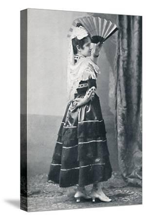 A Spanish dancer, 1912-Unknown-Stretched Canvas Print