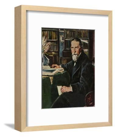 'Wilhelm Raabe 1831-1910', 1934-Unknown-Framed Giclee Print