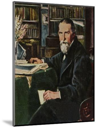'Wilhelm Raabe 1831-1910', 1934-Unknown-Mounted Giclee Print