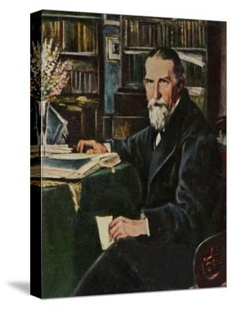'Wilhelm Raabe 1831-1910', 1934-Unknown-Stretched Canvas Print