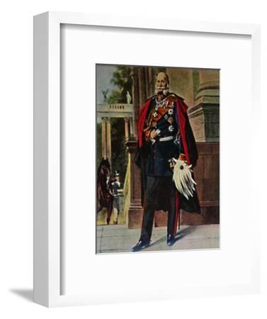 'Kaiser Wilhelm I. 1797-1888. - Gemälde von Plockhorst', 1934-Unknown-Framed Giclee Print