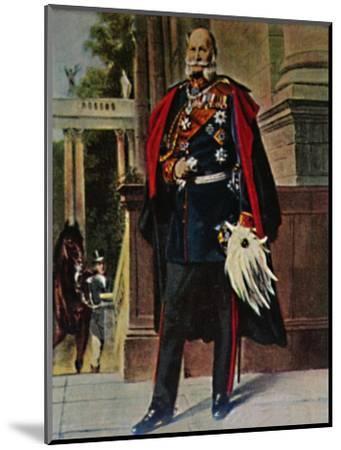 'Kaiser Wilhelm I. 1797-1888. - Gemälde von Plockhorst', 1934-Unknown-Mounted Giclee Print