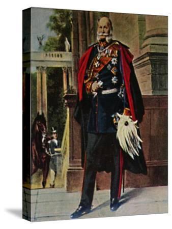 'Kaiser Wilhelm I. 1797-1888. - Gemälde von Plockhorst', 1934-Unknown-Stretched Canvas Print