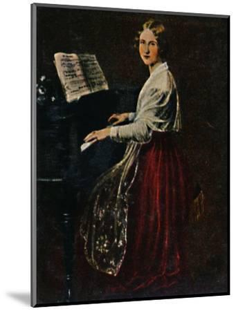 'Jenny Lind 1820-1887. - Gemälde von Asher', 1934-Unknown-Mounted Giclee Print