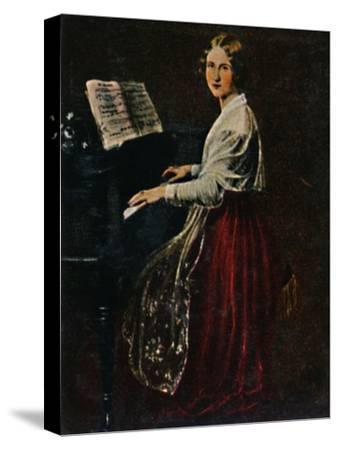 'Jenny Lind 1820-1887. - Gemälde von Asher', 1934-Unknown-Stretched Canvas Print